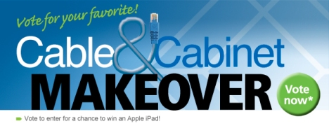 Vote Cabinet Cable Makeover