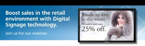 Digital Signage in Retail Webinar