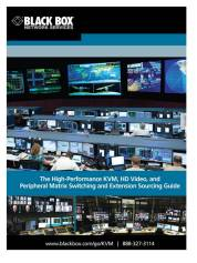 The High-Performance KVM, HD Video, and Peripheral Switching and Extension Guide (e-catalog)